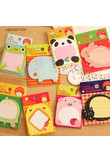 1Pc/Sell Cute Animal Memo Pad Kawaii Office Supplies DIY Diary Stickers Stationary Set Paper Crafts Post It Kawaii Sticky Notes
