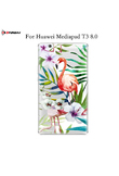 MDFUNDAS Top Quality TPU Tablet Protective Shell For Huawei Mediapad T3 8.0 Case KOB-L09 KOB-W09 Soft Cover For Huawei T3