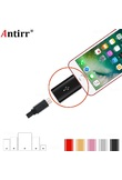 Micro USB Cable Adapter Converter Android Phone Connector Data Sync Charger For Apple iPhone 5 5s 6 6s 7 8 plus X for ipad iPod