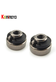 KEMiMOTO Seat Bolt for Harley Sportster Dyna Roadking Softail 1996-2005 1/4'' Refit Seat Bolt Fender Nuts Knobs Nut