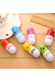 1 Pcs Pill Ballpoint Pen Office And School Supplies Cute School Supplies Stationery Ball Pen Set Office Accessories