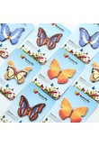 2 PCS New Creative Lovely Butterfly Shape Novelty Self Adhesive Memo Pad Sticky Note Memo Post It Note Gift Stationery