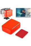 New 1pc Red Floaty Sponge High Quality Float Sponge + 3M Adhesive Sticker Supports Go Pro Hero 6/5/4/3+/3/2/1 Mayitr