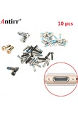 10pcs Five Torx 5 Point Star screw Bolt Pentacle Dock Bottom Connector for apple iPhone 6 6p plus 5 5s 5G Useful Accessories