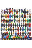 2018 Compatible LegoINGlys NinjagoINGlys Sets NINJA Heroes Kai Jay Cole Zane Nya Lloyd With Weapons Action Toys For Children