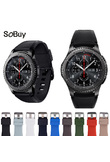 Lxsmart Silicone movement Watchband for Gear S3 Classic/Frontier Watch Band sports Strap Replacement Bracelet Samsung Gear S3