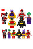 1pcs Super Heroes Harley Quinn Joker Batman Movie Catwoman Robin Poison Building Blocks Compatible With LegoINGly Batman zk15