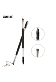 MAANGE 1PC Brow Makeup Brush Wood Handle Double Sided Eyebrow Flat Angled Makeup Brushes brochas para maquillaje maquiagem 43