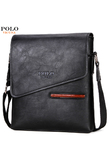 VICUNA POLO NEW Style Fashion Leather Business Bag For Men Crossbody Shoulder Bag With Front Pocket Mens Handbag For iPad Bags