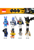 SuperHeroes Building Blocks Batman Iron Man Robin Hulk Spiderman Ninjago Compatible With mini LegoINGly Ninja figures toys z20