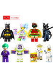 Inhumans Royal Family Gingerbread Man Medusa Rocket Boy Chicken Suit Unicorn Girl Building Blocks Best Children Gift Toys zk20