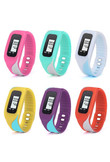 New Fashion Digital LCD Pedometer Run Step Walking Distance Calorie Counter Watch Bracelet Masculino Gift
