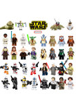 Single Sale legoing Star Wars Luke Leia Han Solo Anakin Darth Vader Yoda Jar Jar Building Blocks Toys starwars legoings figures