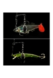 Fishing Balance Accessories Stainless Steel Fishing Balance Connector Swivel Sequin Simulation Baits Tackles dropshipping