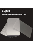 10pcs Handy Plastic Card Pry Opening Scraper for iPad Tablet Cell Phone Glued Screen / Back Housing Repair Tool