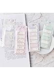 Cute Cartoon 6+1 Unicorn Cat Memo Pad Post It Note Sticky Paper Korean Stationery Rainbow Planner Stickers Notepad School Office