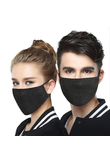 Winter outdoor sports dust-proof cotton mask black warm riding mask durable mask