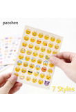 6 Styles 1 Pcs Sticker 48 Classic Emoji Smile Face Stickers for Notebook Diary Albums Message Expression Funny Emoji Sticker Toy