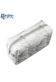 Hopk Marble Pencil Case for Girls Boy Pencilcase Makeup Storage Supplies Big Cosmetic Bag Bts Pencil Box Pencil Bag School Tools