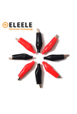 Brand Alligator Clips Electrical Clamp DIY Test Leads Alligator G98 Double-ended Crocodile Roach Clip Red Black Jumper Wir