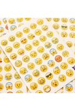 1 Pcs 7 Styles Sticker 48 Classic Emoji Smile Face Stickers for Notebook Diary Albums Message Expression Funny Emoji Toy Sticker