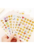 1 Pcs 48 Classic Emoji Smile Face Stickers for Notebook Diary Albums Message Expression Funny Emoji ChildrenToy Sticker