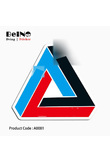 triangle logo sticker palac sign fashion waterproof suitcase laptop guitar luggage skateboard bicycle toy lovely A0081 stickers