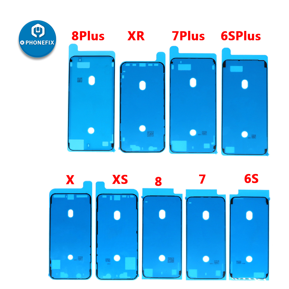 """""""3M Waterproof Sticker for iPhone LCD Screen Frame Tape Repair Part Adhesive Pre-Cut Stickers for iPhone 6S 6SP 7 7P 8 8P X XS XR"""""""
