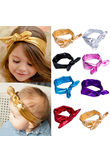 US Stock Kids Baby Girls Bowknot Headband Toddler Hair Band Headwear Accessories