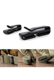 2pcs/set Climbing Waist Straps Buckle Clips Webbing BuckleS Ribbon Ending Outdoor Hang Buckle Hooks Ribbon Folder Carabiner