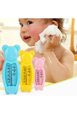 Children's Cartoon Floating Bear Baby Water Thermometer Kids Bath Thermometer Toy Plastic Tub Water Sensor Thermometer