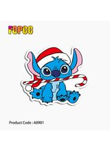 Cute Cartoon Stitch stickers for children kids Laptop Moto Car guitar luggage skateboard bicycle waterproof PVC stickers
