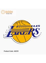 A0259 sticker laker basketball shoes USA sand sea hobby toy suitcase laptop guitar luggage DIY skateboard bicycle toy HZ 30