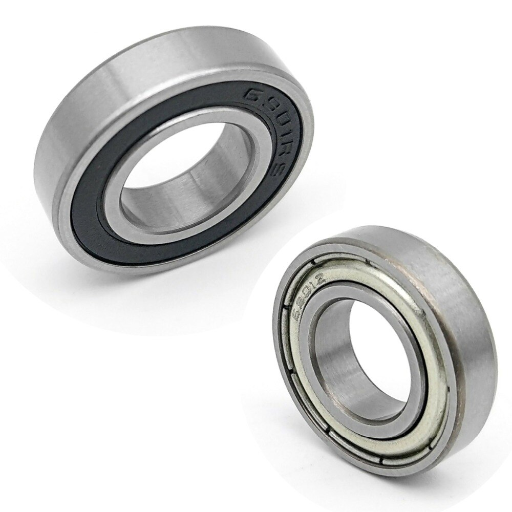 """1PCS DALUO Bearing 6901ZZ 6901-2RS 12X24X6 6901 6901Z 6901RS ABEC-1 Single Row Deep Groove Ball Bearings Metric"""