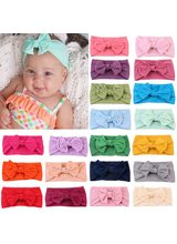 Baby Headband Girls Baby Bows Hairband Headband Cute Turban Flower Head Wrap Baby Hair Accessories