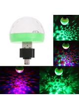 USB Disco Light LED Party Lights Portable Crystal Magic Ball Colorful Effect Stage Lamp For Home Party Karaoke Decor Drop Ship