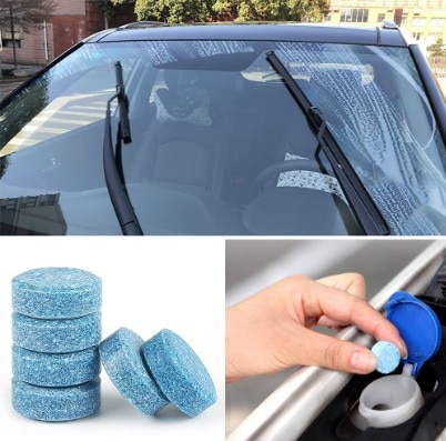 Car Concentrated Multifunctional Effervescent Tablet Cleaner Super Clean Agent Glass Cleaner Windshield Cleaner Car Accessories