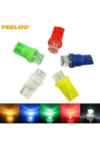 1Pc Auto Car 5-Color T10 194 168 1 LED Concave LED Wedge Base Dashboard LED Light Bulbs #FD-3167