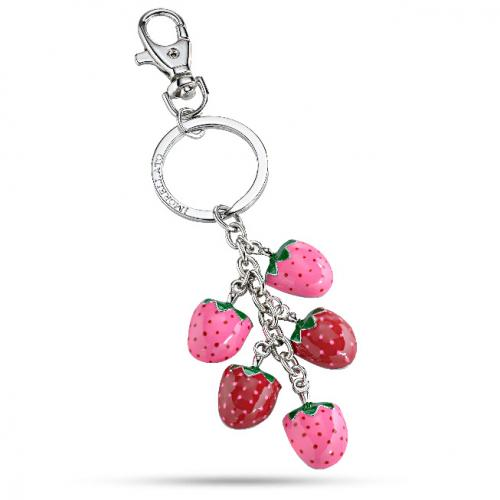 morellato since 1930 portachiavi morellato da donna magic strawberry charm sd 0367