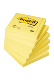 BLOCCO 100fg Post-it®Giallo Canary 76x76mm 654 (unità vendita 12 pz.)