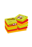 BLOCCO 90foglietti Post-it®Super Sticky 47,6x47,6mm 622-12SS-MAR-EU MARRAK. (unità vendita 12 pz.)