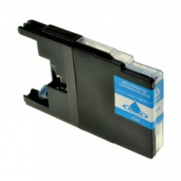 CARTUCCIA LC 1240 CIANO COMPATIBILE PER BROTHER J525W J925DW J430W J6510DW,J6910DW LC1240 CAPACITA' 10ML