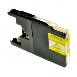 CARTUCCIA LC 1240 GIALLO COMPATIBILE PER BROTHER J525W J925DW J430W J6510DW,J6910DW LC1240 CAPACITA' 10ML