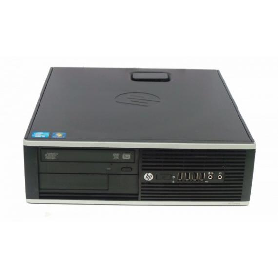 PC HP COMPAQ 8200 ELITE SFF CORE I3-2100 3.1GHZ 4GB RAM 250GB DVDRW WINDOWS 7 PROFESSIONAL RICONDIZIONATO GRADE A
