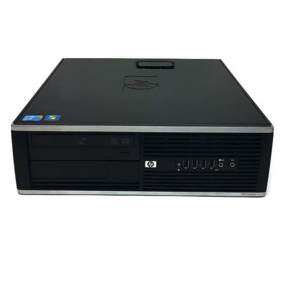 PC HP COMPAQ 6000 PRO SFF CORE 2 DUO E8400 2.8GHz 4GB RAM 250GB DVDRW CON WINDOWS 10 PRO RICONDIZIONATO GRADE A