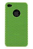 Cover perforated fluo greeniPhone 4/4S