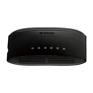 Dlink DES-1005D Switch Unmanaged 5*LAN Nero