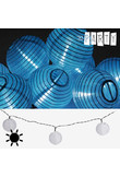 Ghirlanda ad Energia Solare con Lanterne Bianche Th3 Party (10 LED)
