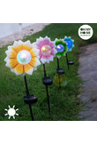 Fiore ad Energia Solare con LED Multicolor Oh My Home