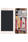 Display per Huawei P9 gold lcd con Touch Screen con Frame